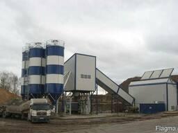 Бетонный завод стационарный SUMAB Т-100* 2 миксера, Швеция