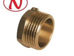 "Brass Cap for seal 1/2"" M / HS - фото 1"