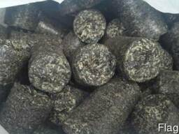 Брикеты из лузги подсолнечника( briquettes from sunflower) - фото 1