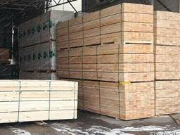 Брус, сосна, Square-sawn timber of any section
