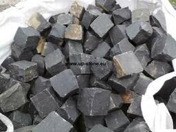 Брусчатка из базальта / Basalt Pflastersteine