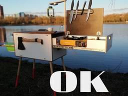 Camping box & Küche