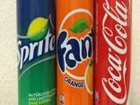 Coca Cola, Fanta and Sprite, Pepsi 0.33 (330ml - photo 1
