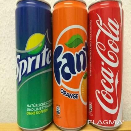 Coca Cola, Fanta and Sprite, Pepsi 0.33 (330ml