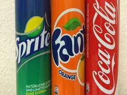 Coca Cola, Fanta and Sprite, Pepsi 0. 33 (330ml