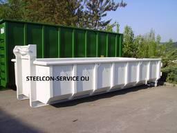 Container, platform