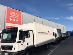Доставка Растаможка грузов из России в Европу