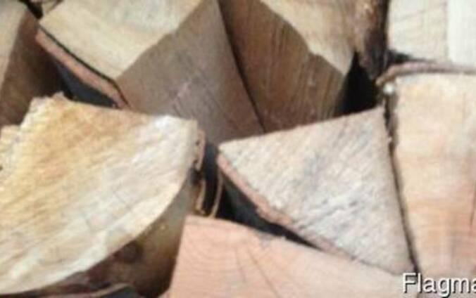 Дрова Березы Колотые Сухие 8-14% влажности