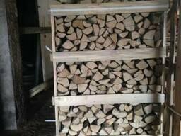 Дрова колоті сухі граб , ясен, дуб, береза - фото 5