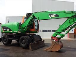 Экскаватор на колёсном ходу Caterpillar M 316 D