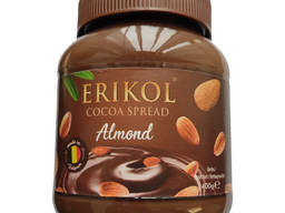 Erikol - Миндальное какао-спред - 400гр -Сделано в Бельгии-