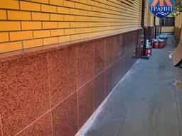 Гранитная плитка для фасада, Украина
