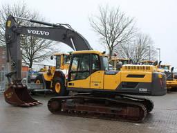 Гусеничный экскаватор Volvo EC 250 DL, Швеция