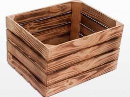 Holzkisten zur Lagerung und zum Transport - photo 2