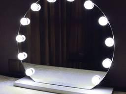 Круглое зеркало d700 - фото 3