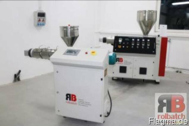 Лабораторная линия для экструзии композитов / гранулята