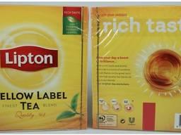 Lipton Yellow tea , black tea