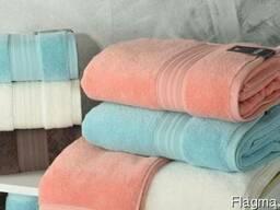 Махровые и бамбуковые полотенца