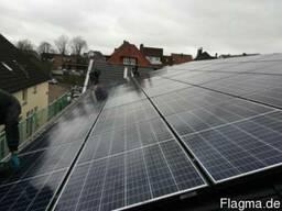 Монтаж солнечных батарей - фото 4