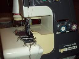 Nähmaschine Overlock Privileg 4000, 4 Fäden, mit Kettenstich