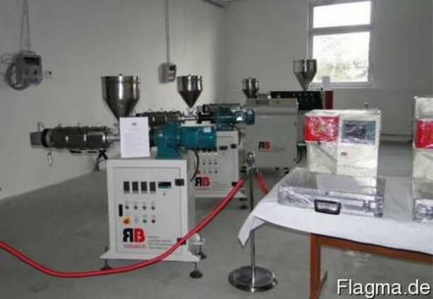 Одно и двухшнековые лабораторные экструдеры