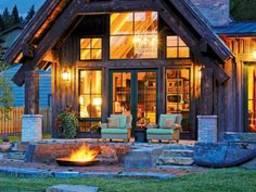 Оригинальный и красивый дом