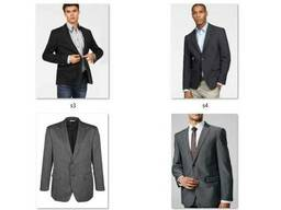 Пиджаки мужские классические костюмные Миксы Сток опт - фото 5