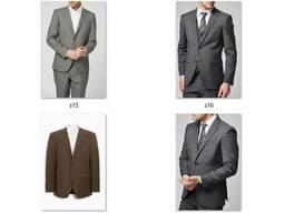 Пиджаки мужские классические костюмные Миксы Сток опт - фото 6