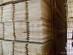 Pine floor boards flooring - photo 2