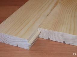 Pine floor boards flooring - photo 4
