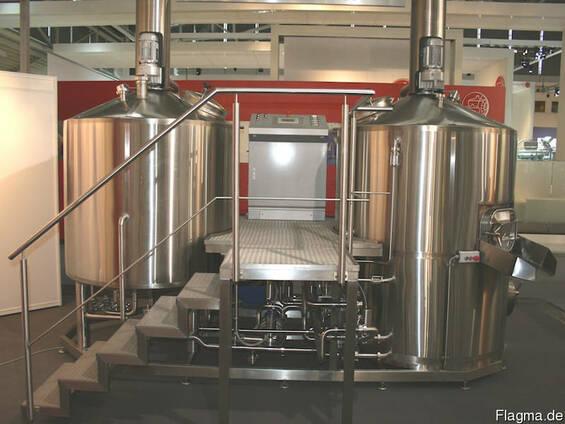 Пивоварня ( мини пивзавод) 10 гектолитров, из Германии