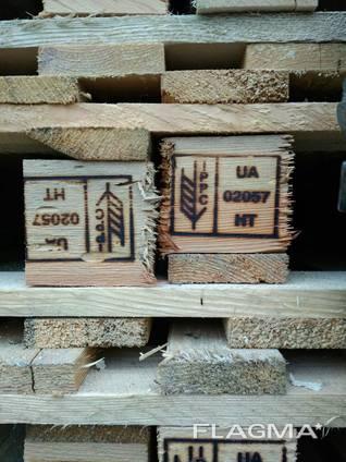 Поддон деревянный