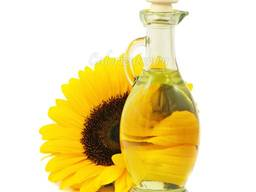 Подсолнечное масло рафинированное и не рафинированное