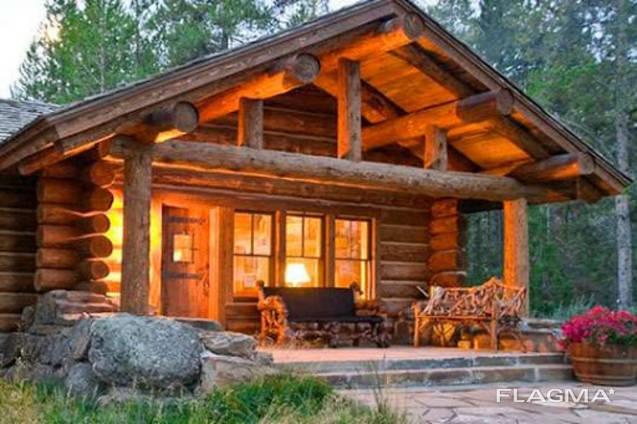 Построим красивый дом из ели