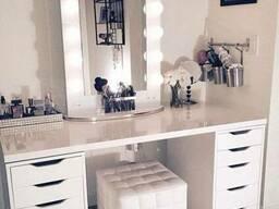 Рабочий стол для макияжа с подсветкой. - фото 3