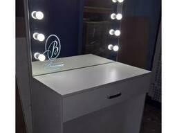 Рабочий стол для макияжа с подсветкой. - фото 4