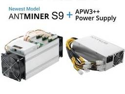 Selling Bitmain Antminer S9 14th with PSU/ CHAT: