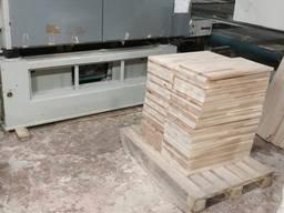 Щит мебельный из березы, толщина 16-40 мм