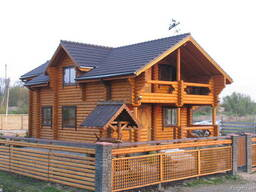 Строительство деревянных домов из бревна и бруса.