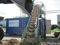 Сушка в контейнере - древесной щепы опилок стружки Newtainer