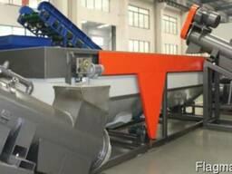 Технологическая линия для мытья пленки HDPE, LDPE