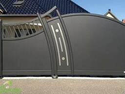 Ворота металические в стиле АРТ