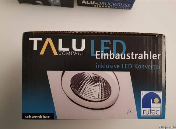 Встраиваемые прожекторы и светодиодные полосы от «Rutec»