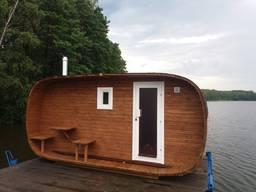 Wir bieten Saunen aus Holz / Предлагаем бани из бруса