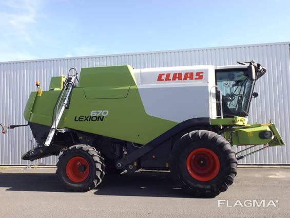 Зерноуборочный комбайн Claas Lexion 670, Германия